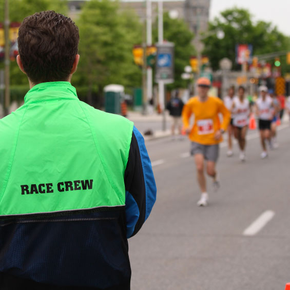 Volunteer to Help with the Race